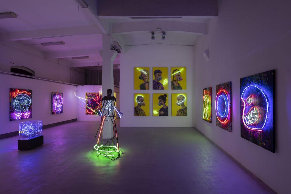 Výstava Duo Neone